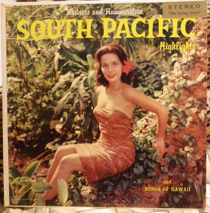 South Pacific Islands Putumayo Album Cover