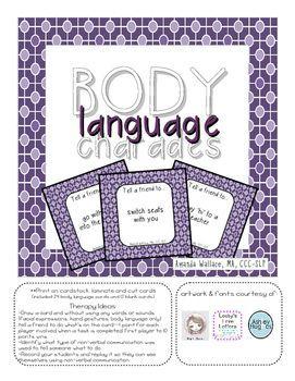 Body Language Charades FREEBIE