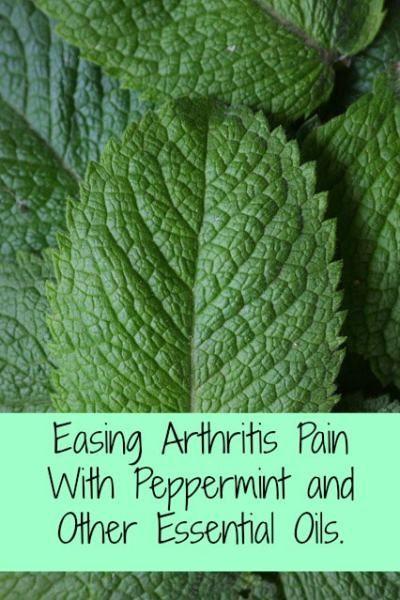 essential oil arthritis blends