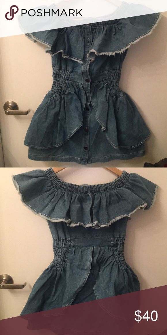 Denim Dress Pretty denim Dress petite Size Dresses Mini