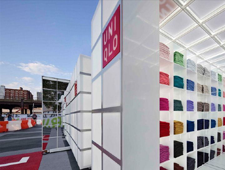 POP UP! #UNIQLO Pop Up Store by HWKN, New York store design #nyc