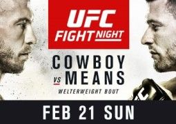 """UFC RETURNS TO PITTSBURGH FOR UFC FIGHT NIGHT®: Donald """"Cowboy"""" Cerrone vs. Tim Means"""