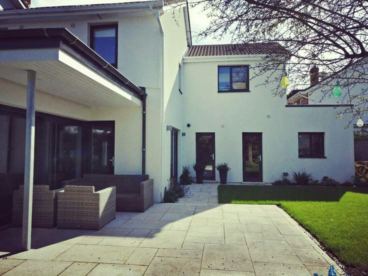 High end Aluclad windows and doors installed in this beautiful project in Clonskeagh.