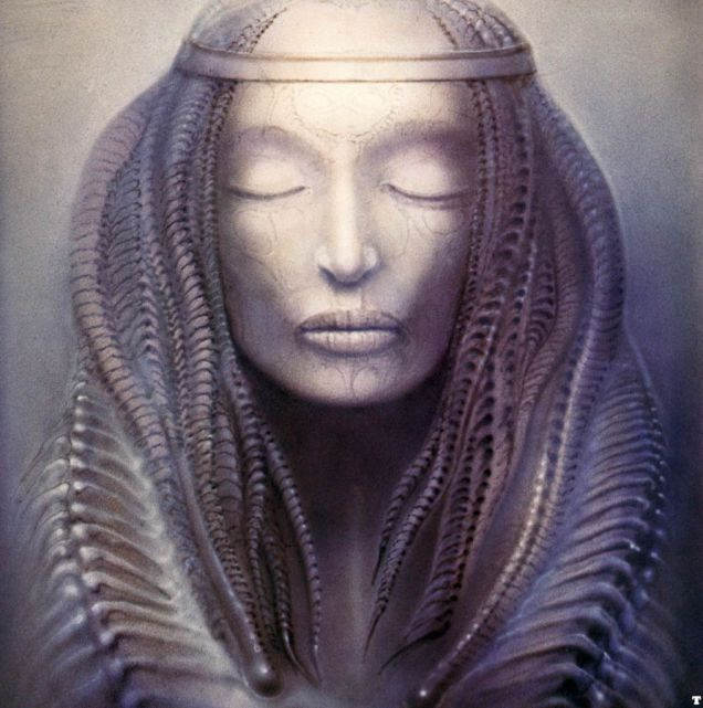 The cover of Emerson, Lake and Palmer's 1973 album, Brain Salad Surgery