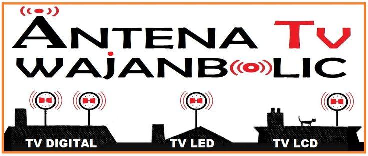 JUAL ANTENA TV BAGUS WAJANBOLIC ONLINE yang cocok dan jernih untuk TV LED, TV LCD DAN TV DIGITAL
