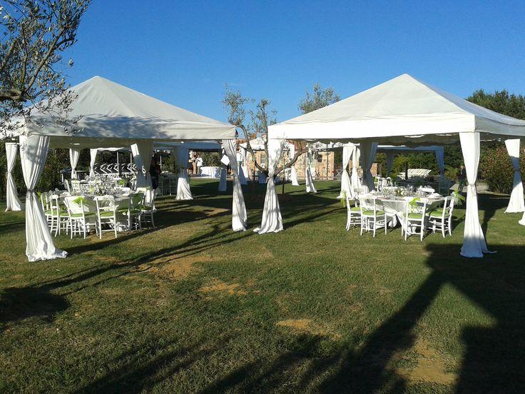 Wedding reception - Gazebos