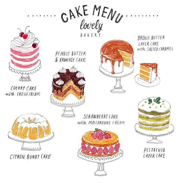 김혜빈 @moreparsley #cake menu_주말...Instagram photo | Websta (Webstagram)
