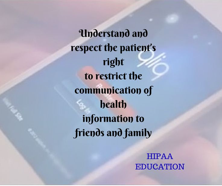 17 Best Images About HIPAA Education On Pinterest