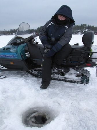 17 best images about ice fishing winter sports show on for Ice fishing show