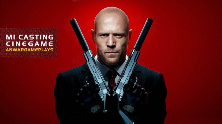 Jason Statham como Agente 47 (Hitman: Absolution)