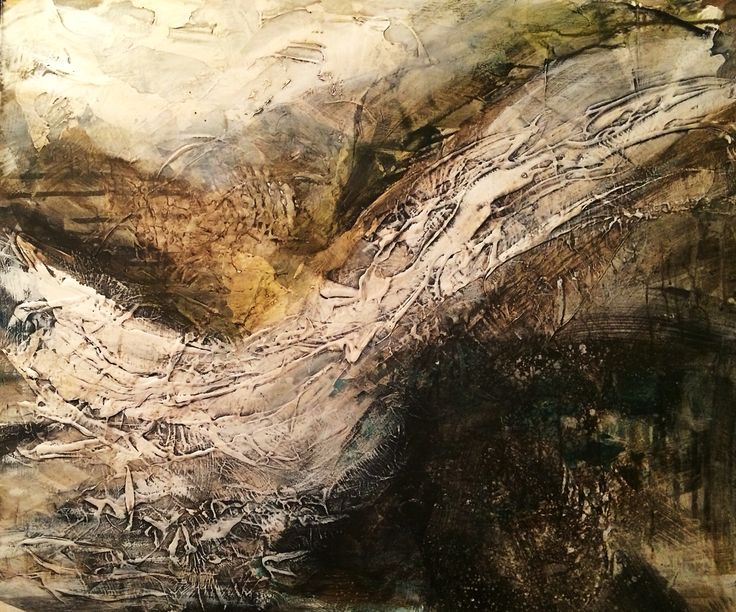 'White Whisper' Acrylic & Gesso on Plyboard. This work will be available at Ffin Y Parc Gallery in 2015 www.welshart.net