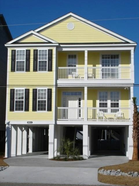 Myrtle Beach Beach Houses For Rent Part - 39: House Vacation Rental In Surfside Beach Near Myrtle Beach From VRBO.com!  #77473