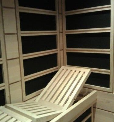 Clearlight infrared saunas heater kits build your own for Basement sauna kit