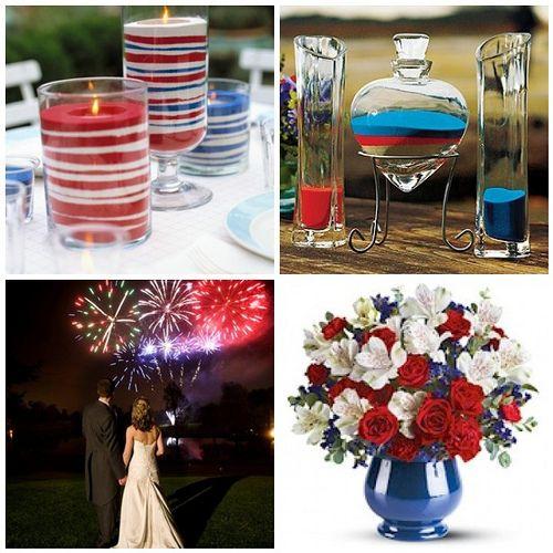 Fourth Of July Wedding Theme Ideas