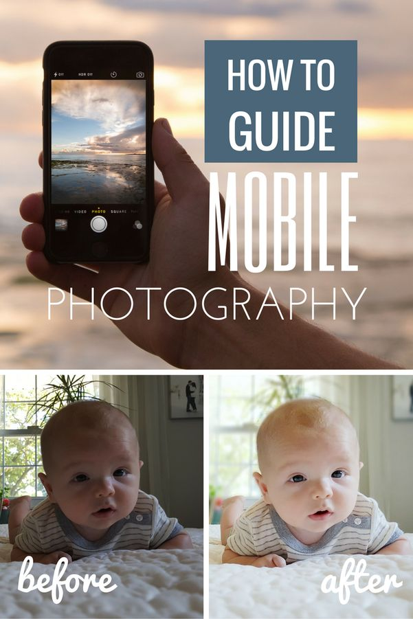 How-To Guide to Mobile Photography - Growing Up Zee