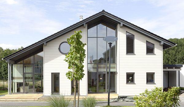Ein Wunderschönes Fertighaus Der Firma Stommel Haus. Besichtigen Könnt Ihr  Dieses Wohngesunde Traumhaus übrigens In