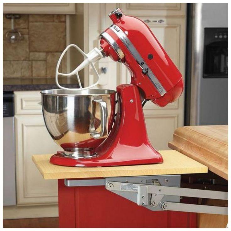 Details About Rev A Shelf Kitchen Cabinet Heavy Duty Mixer