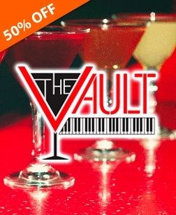 Check out this deal from TownWild.com - $10 for $20 to Spend on Food & Drink at The Vault: Food Drink