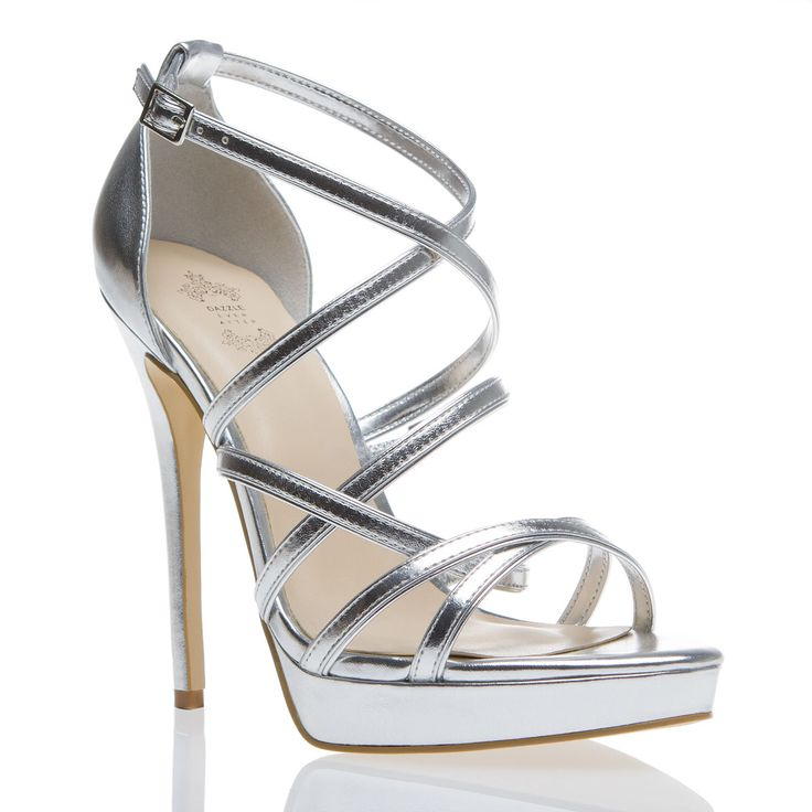 1000  ideas about Silver Strappy Heels on Pinterest | Silver heels ...