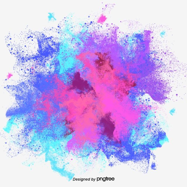 Color Ink Splash Color Clipart Splash Clipart Png Transparent