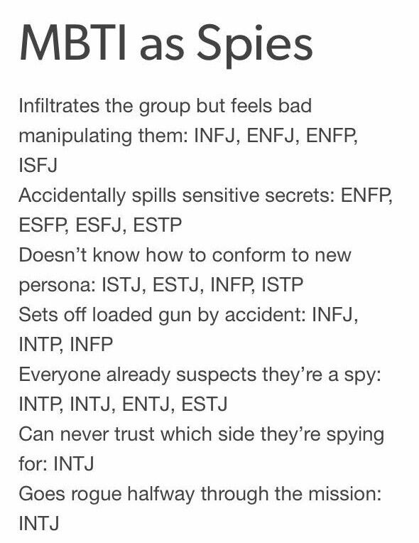 INTJ  This might explain why I always get  Shay as my AC character in those quizzes