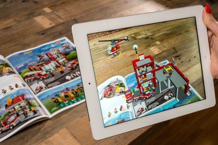 Augmented LEGO catalog