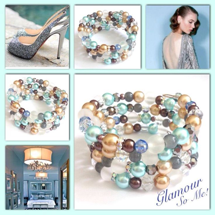 Glamour! Moderne, mooie zelfgemaakte armbanden, glas parels, glas kralen , Memory wire, http://some-accessoires.nl