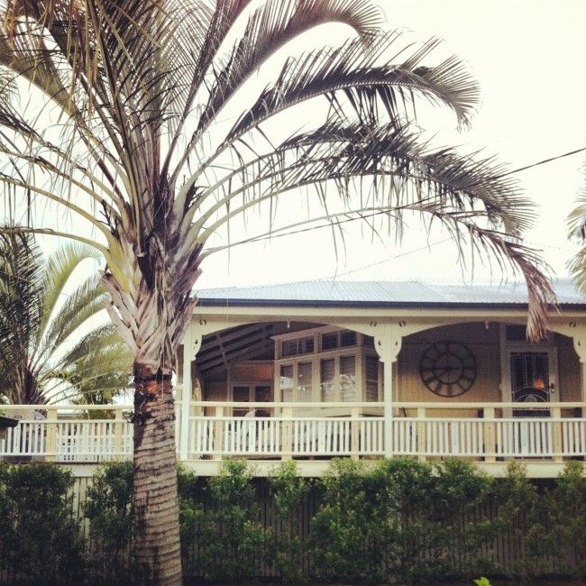 verandah. Queenslander Architecture