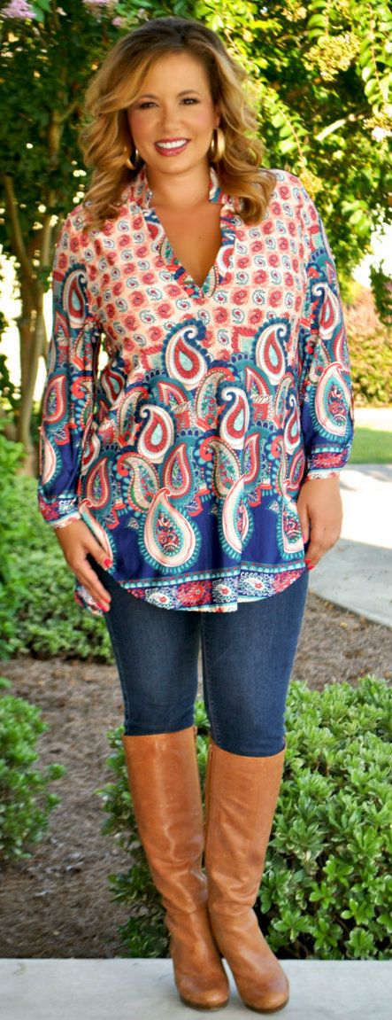 Perfectly Priscilla Boutique - The Spice Of Life Top, $38.00 (http://www.perfectlypriscilla.com/the-spice-of-life-top/)