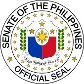Senado da Filipinas. Senate of the Philippines.