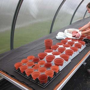 Greenhouse Equipment Seed Starting Supplies Pots