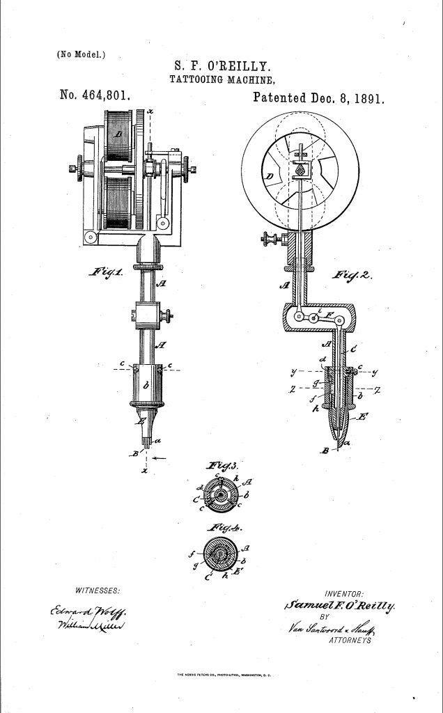 The Evolution Of Tattooing In America Art Greyjournal Net In 2020 Tattooing Machines Tattoo Machine Tattoo Museum