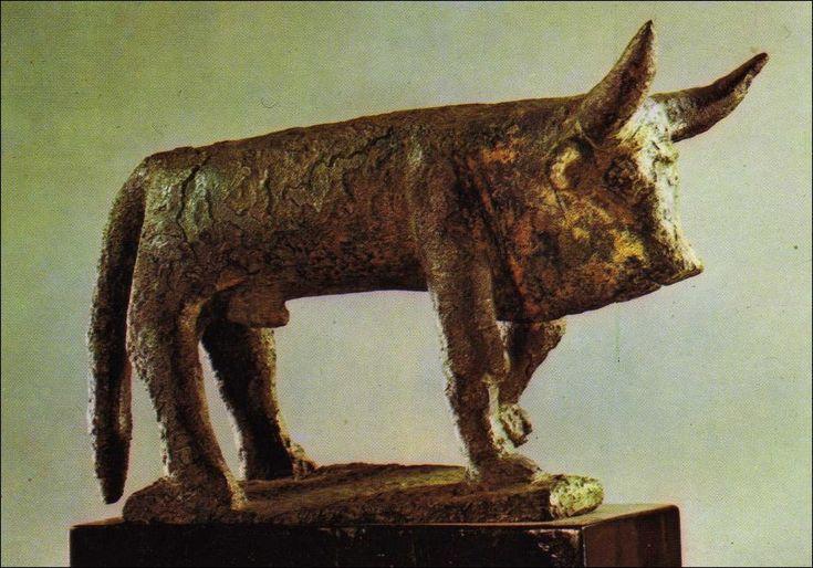 Toro de Bronce - Cultura Talayótica