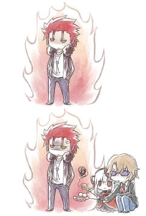 Anna, Izumo and Mikoto