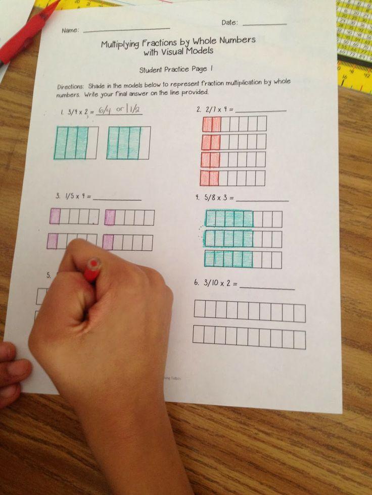 Visual Fraction Models for Multiplication