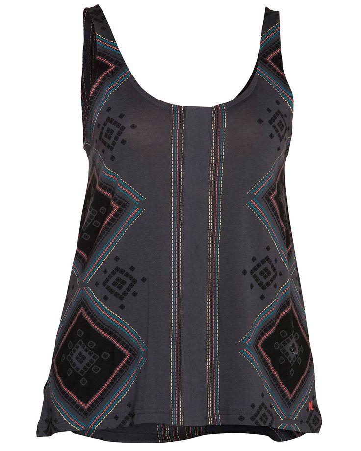 hurley women's tank tops | Stitches Girls Knit Tank - Hurley