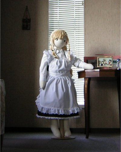 """Absolute Sweet Cindy"" Free Cloth Doll Pattern by Doku.  Go to... http://doku.bimyo.jp/scd2/index.html"