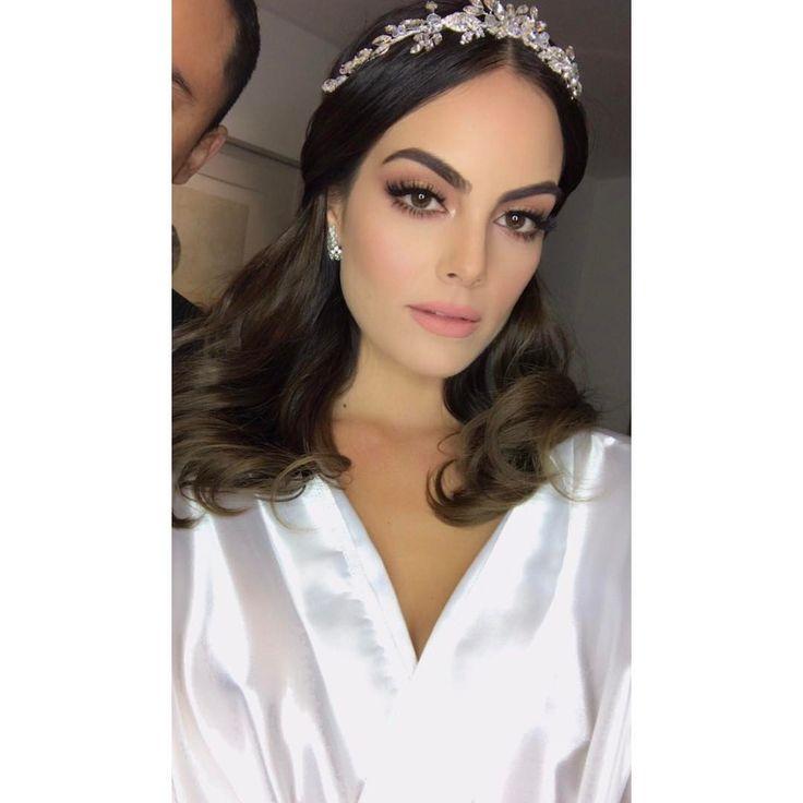 """84.5k Likes, 277 Comments - Ximena Navarrete (@ximenanr) on Instagram: """" el día de mi boda #MakeUpByVictorGuadarrama @vicoguadarrama"""""""