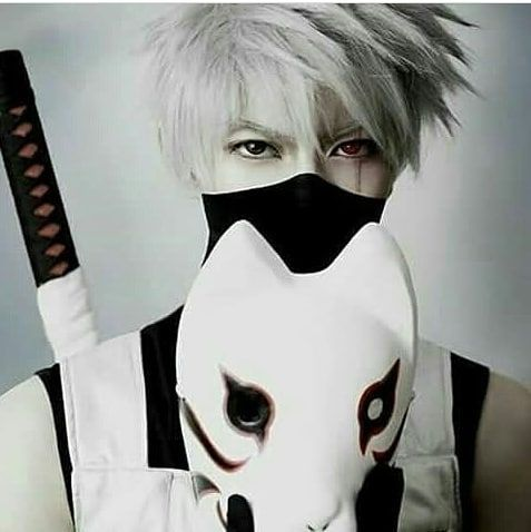Lit or lame? |  . . . Credit : unknown [DM for shoutout] . . . Tags to ignore  #anime #cosplay #costume #mask #kakashi #sharingan #anbu #ANBU #naruto #narutoshippuden #art #2018 #memes