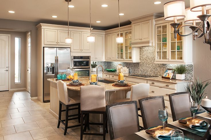 Model Home Kitchen just another inviting mattamy kitchen. this is our award-winning