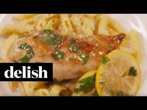 Lemon Garlic Chicken - Lemon with White Wine Sauce