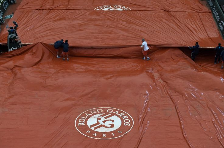 Jeu, set et drache: trente ans de pluie à Roland-Garros