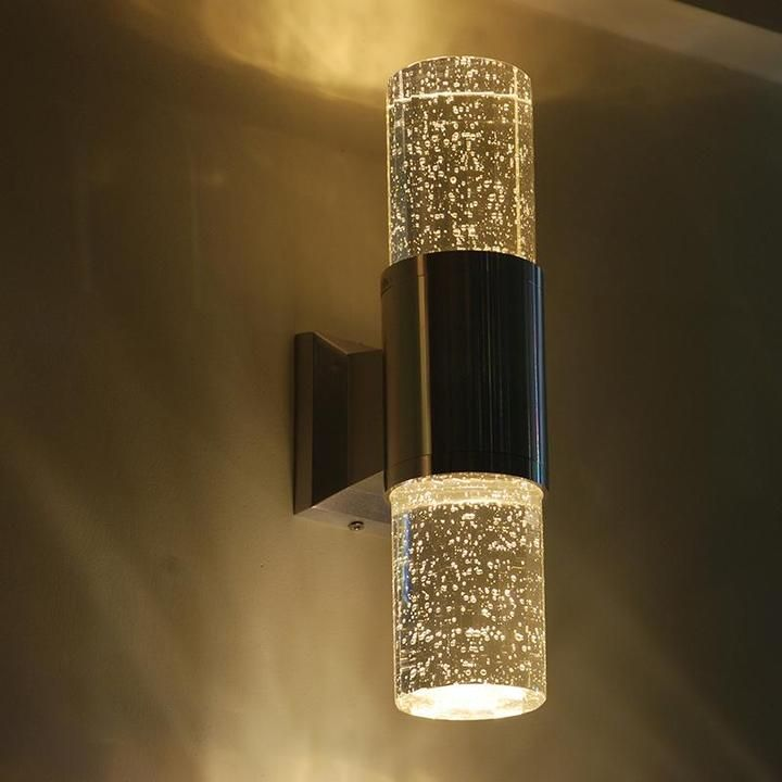 Crystal Bubble Wall Lamp Best Bubble Effect Wall Lights Novarian Creations Wall Lamps Living Room Glass Wall Lights Wall Lamp