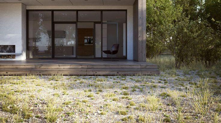 Making of Scandinavian Summer House