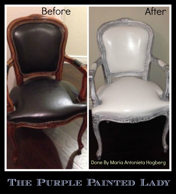 The Purple Painted Lady Chalk Paint Painting Leather Maria