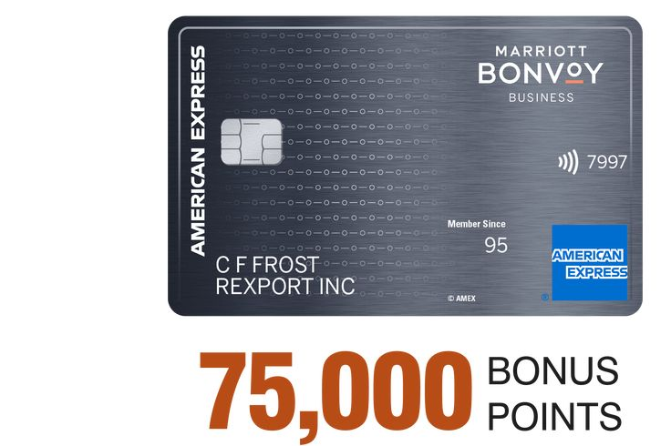 Earn loyalty points with your credit card marriott