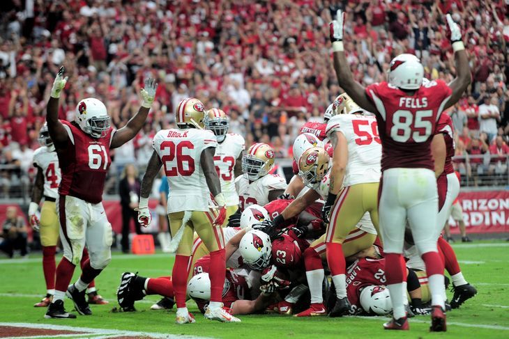Cardinals vs. 49ers final score: What we learned in the 47-7   victory over San Francisco -  By Jess Root  @senorjessroot on Sep 27, 2015, 7:14p