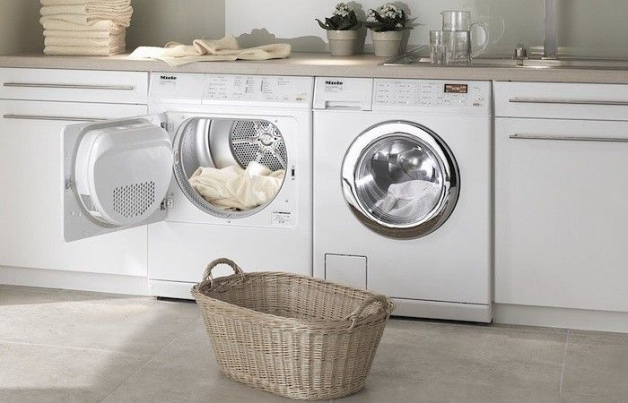 Miele Compact Washer Dryer, Remodelista #anthropologie and #pin to win