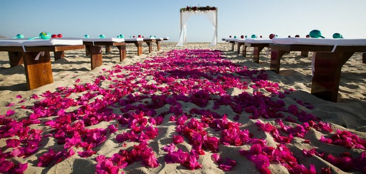 Lisa & Steve's Mexico Beach #Wedding. To see more: http://www.modwedding.com/2013/10/03/lisa-steves-mexico-beach-wedding-signature-event-consulting-design/