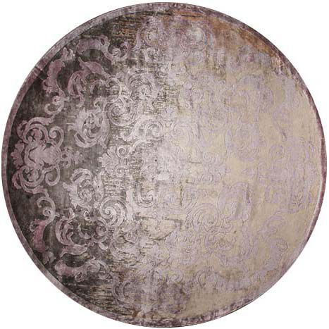 Круглый ковер тень Пармы Cardinal Parme Shadow #vintage #carpets #rug #ковер #designer #interior